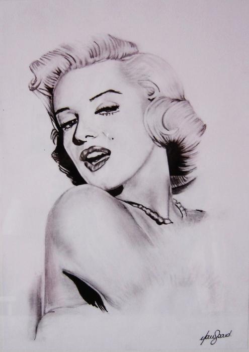 Marilyn Monroe par laejea